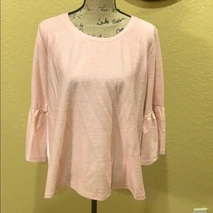 Mixed fabric blouse- see offer in description